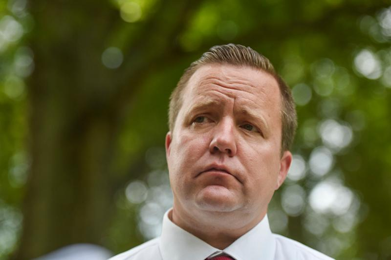 Corey Stewart is seen in July 2017.