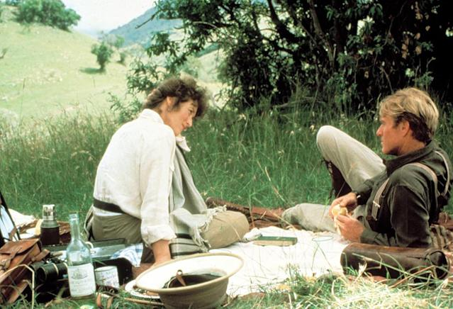 Meryl Streep and Robert Redford in <em>Out of Africa</em>, 1985. (Photo: MCA/Universal/Courtesy Everett Collection)
