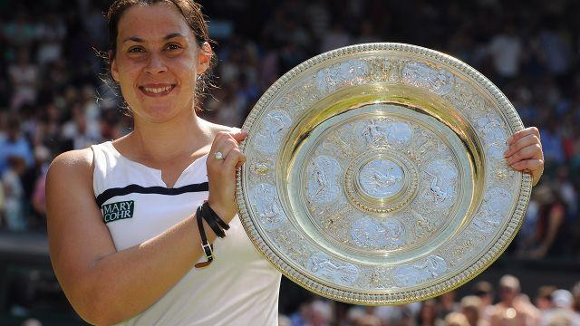 Bartoli won Wimbledon in 2013 before announcing her shock retirement. Image: Getty