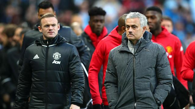 Wayne Rooney may feature in midfield for Manchester United against Swansea City as Jose Mourinho counts a lengthy list of absentees.