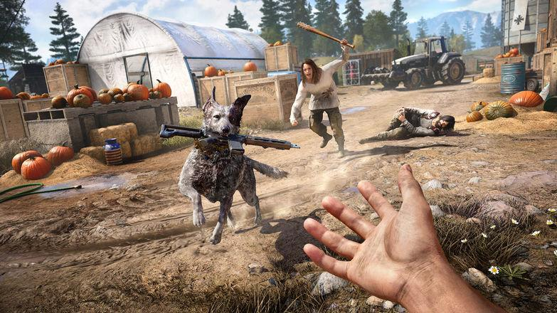This very good boy will help you take down the doomsday cult at the center of 'Far Cry 5.'