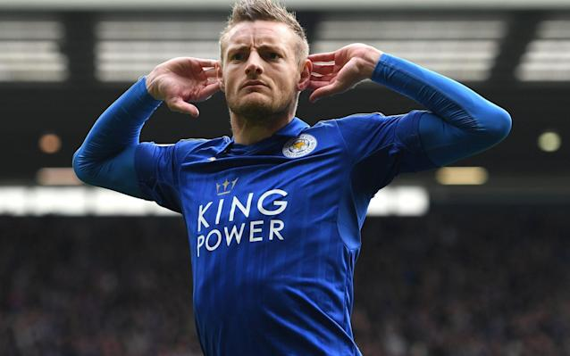 <span>Jamie Vardy scored the only goal against West Brom</span> <span>Credit: Getty Images </span>