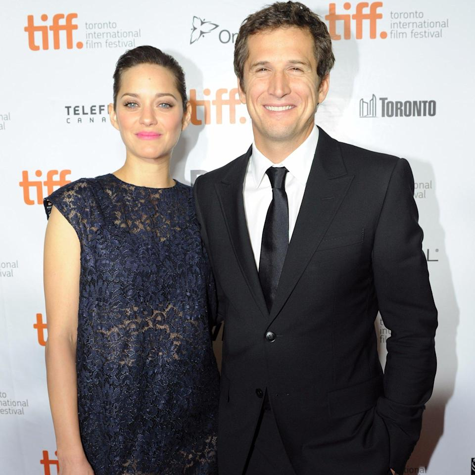 <p>Marion Cotillard and Guillaume Canet had a daughter earlier this month. The little girl is reportedly named Louise (though this hasn't been confirmed). It's the couple's second child. <i>[Photo: Getty]</i> </p>
