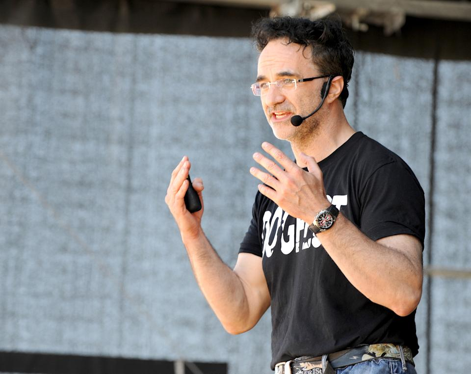 Noel Fitzpatrick hosts DogFest north at Arley Hall on June 18, 2017 in Northwich, England.  (Photo by Shirlaine Forrest/WireImage)