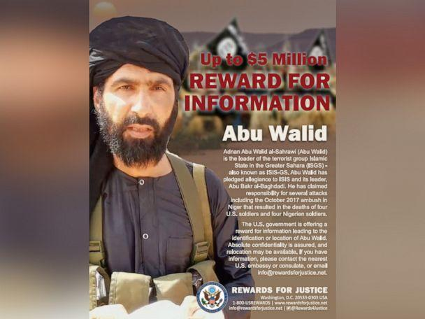 PHOTO: A flyer released by the State Department of Abu Walid. (U.S. State Department)