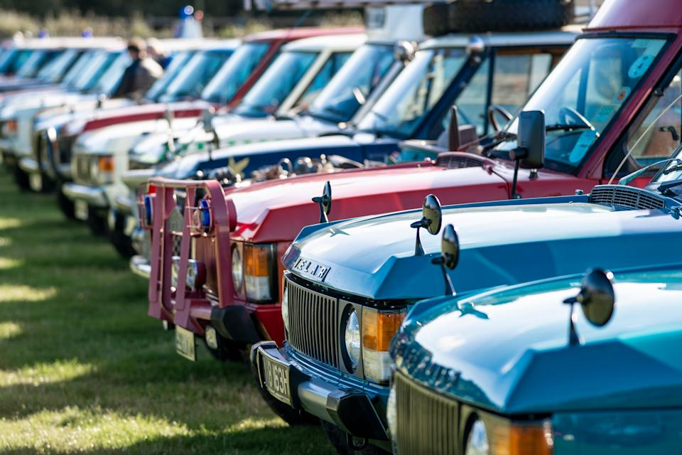 <p>Included in the haul of one-off Range Rovers were vehicles that, over the years, had been converted into ambulances, police patrol cars, rescue vehicles, even rally cars</p>Handout