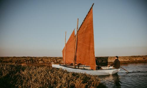 Wellness sailing: shed the stress in the Norfolk salt marshes