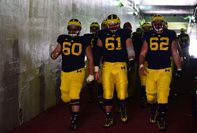 Michigan lineman Graham Glasgow pleads guilty to reduced drunk driving charge
