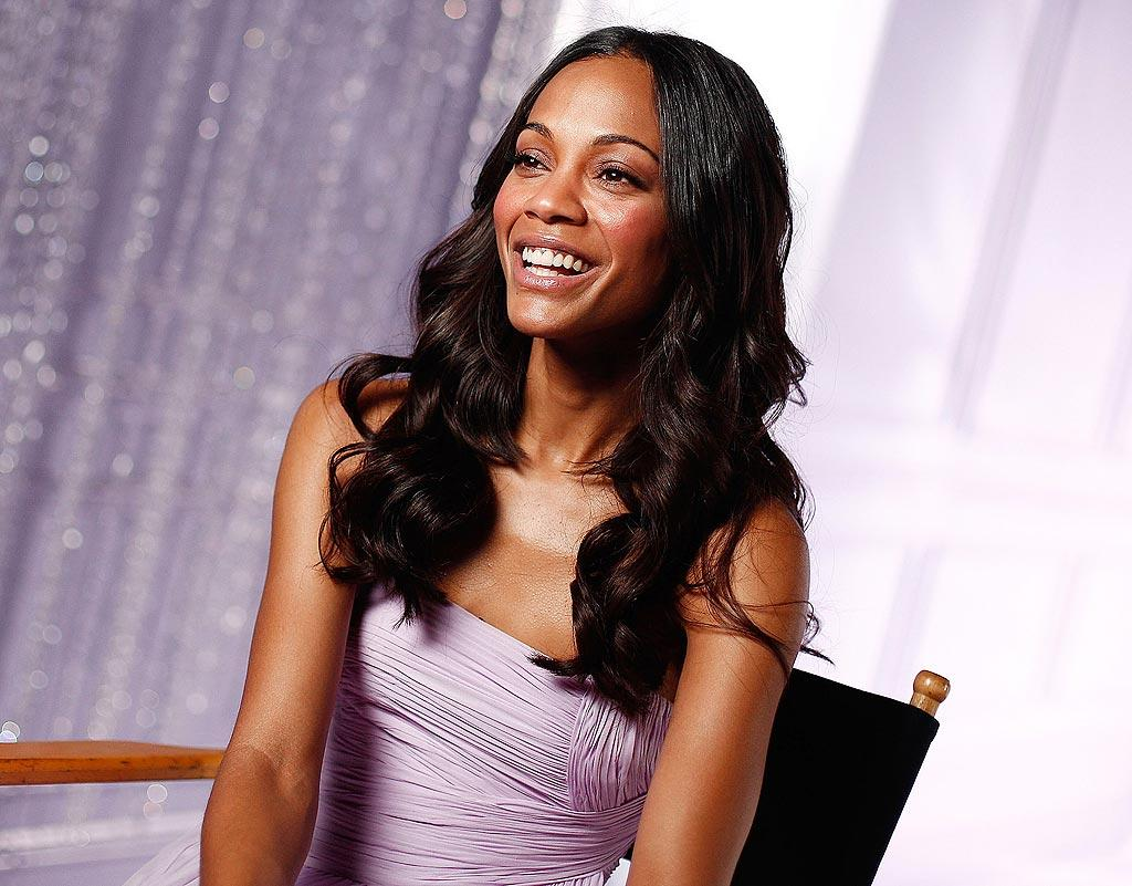 """Avon calling! """"Avatar"""" star Zoe Saldana was named as the face of Avon's newest fragrance, Eternal Magic, on Wednesday. The perfume will launch this April. Life is pretty sweet for Saldana these days -- the blockbuster """"Avatar"""" is rapidly approaching """"Titanic's"""" record as the top-grossing movie of all time. Brian Ach/<a href=""""http://www.wireimage.com"""" target=""""new"""">WireImage.com</a> - January 13, 2010"""
