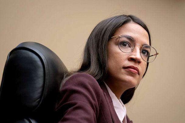 PHOTO: Rep. Alexandria Ocasio-Cortez attends a House Oversight Committee hearing on high prescription drugs prices on Capitol Hill in Washington, July 26, 2019. (J. Scott Applewhite/AP)