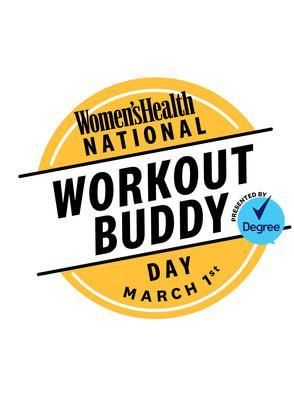 Women's Health created National Workout Buddy Day in 2018. Celebrate this year on Monday, March 1 with a full day of Instagram Live workouts. Don't forget to share a photo of you and your workout buddy using the hashtag #NationalWorkoutBuddyDay and tagging @womenshealthmag on Instagram.