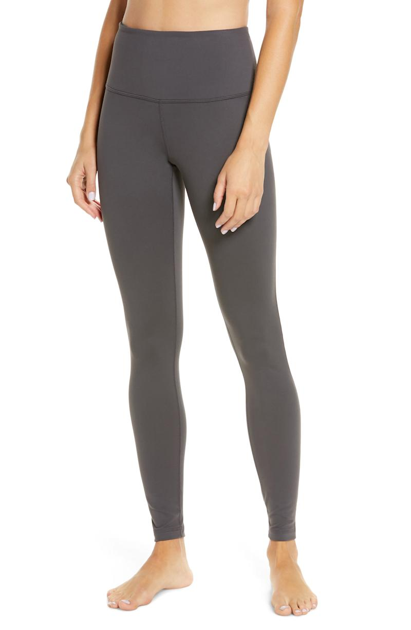 Live In High Waist Leggings in Grey Forged