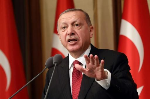 President Recep Tayyip Erdogan has said Turkey is the victim of a 'political, underhand plot'