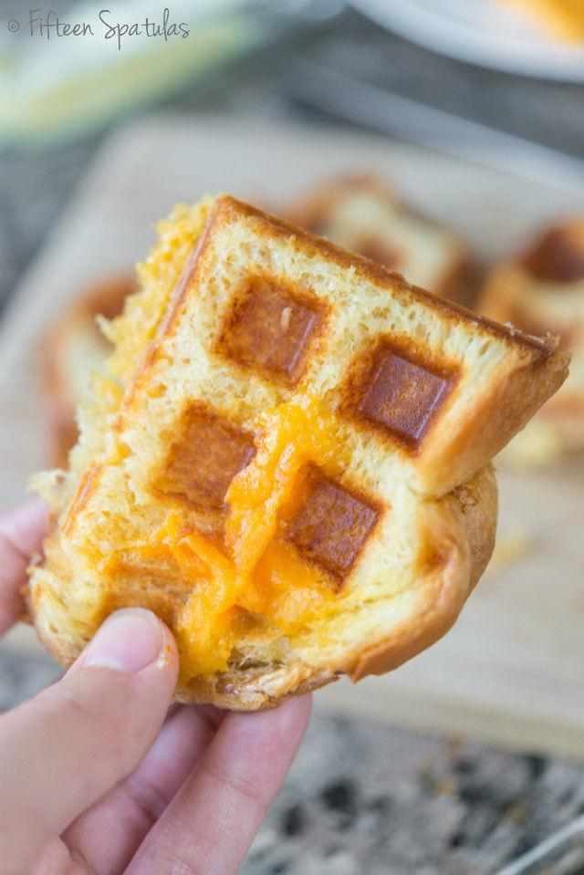 how to make waffles with a waffle iron