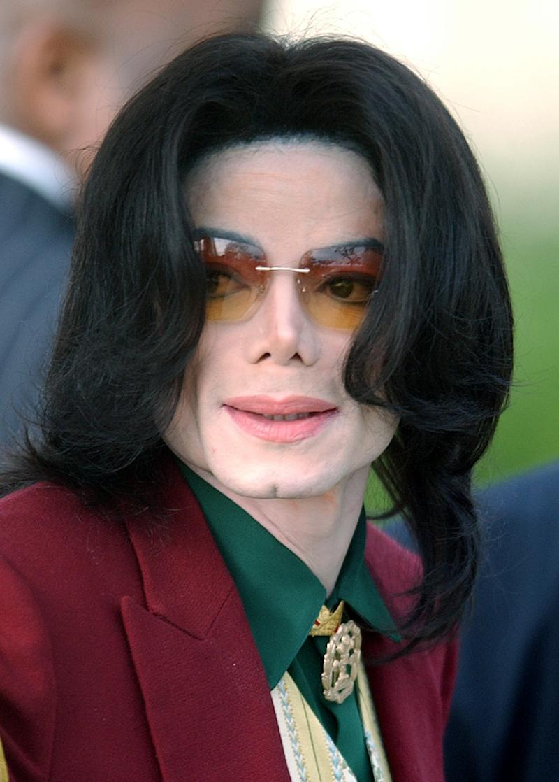 FILE - In this March 17, 2005, file photo, Michael Jackson arrives at the Santa Barbara County Courthouse in Santa Maria, Calif. Promoters of Jackson's planned 2009 comeback, described in emails released Saturday, Sept. 1, 2012,  show they feared for the megastar's stability, saying he was out of shape and often consumed with self-doubt.(AP Photo/Michael A. Mariant, File)