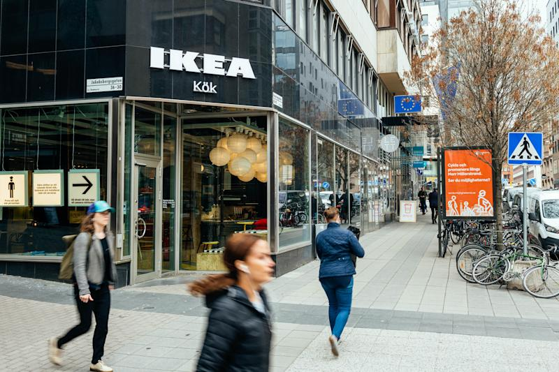 Mini Ikea spin-off store opens in central London