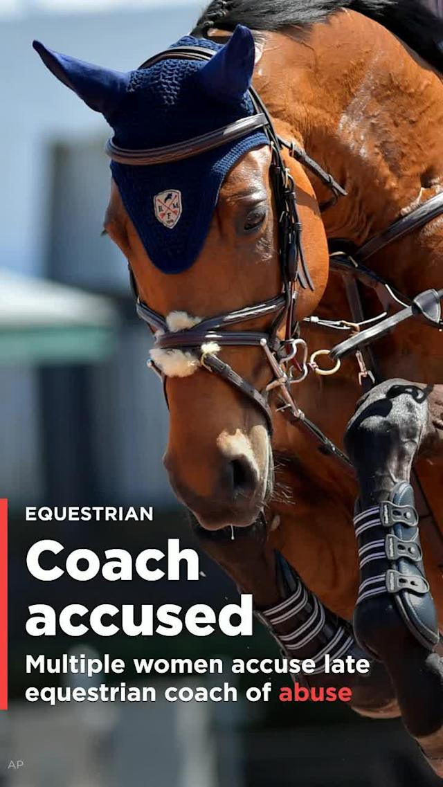 Late acclaimed United States equestrian coach Jimmy A. Williams is accused of committing sexual assault.