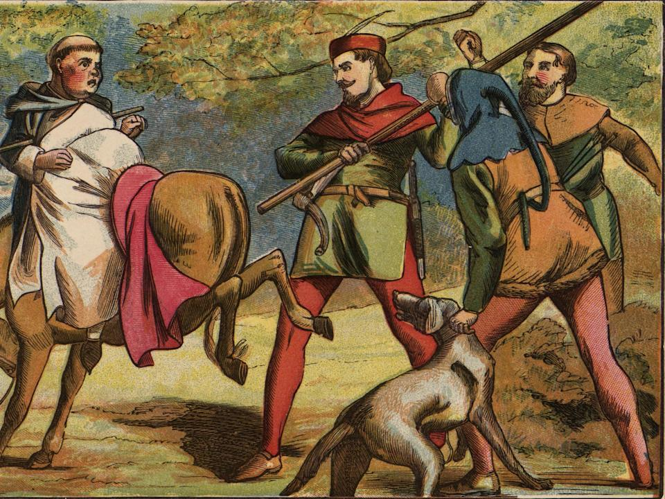 <p>Robin Hood may have become a key target for King Henry III and his powerful justiciar Hubert de Burgh</p> (Getty)