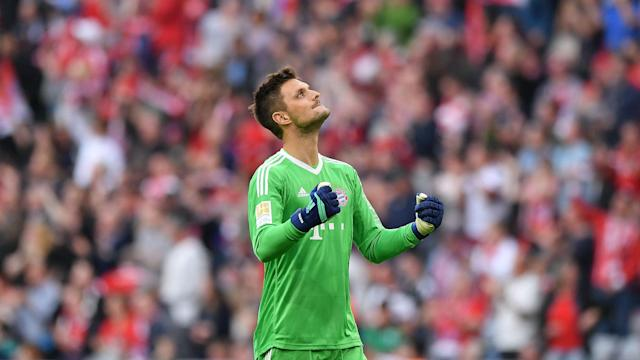 Bayern Munich's hero in the DFB-Pokal semi-final may have been Thomas Muller, but he pointed out Sven Ulreich played a major role in goal.