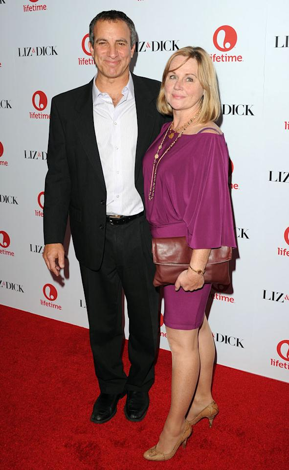 "Bruce Nozick and guest attend the premiere of Lifetime's ""Liz & Dick"" at the Beverly Hills Hotel on November 20, 2012 in Beverly Hills, California."