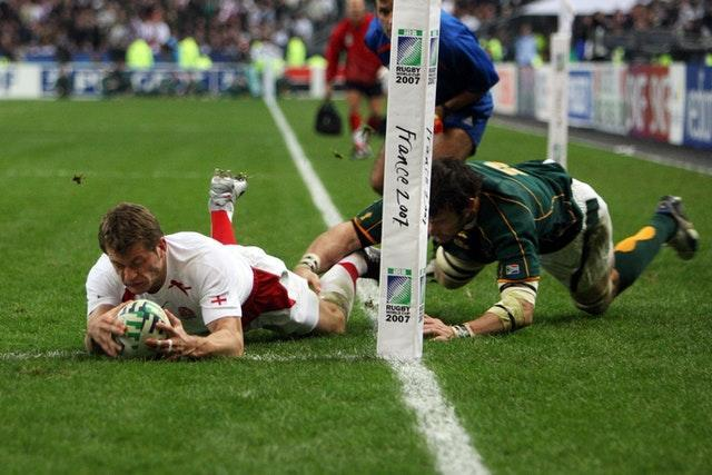 Mark Cueto's try was ruled out