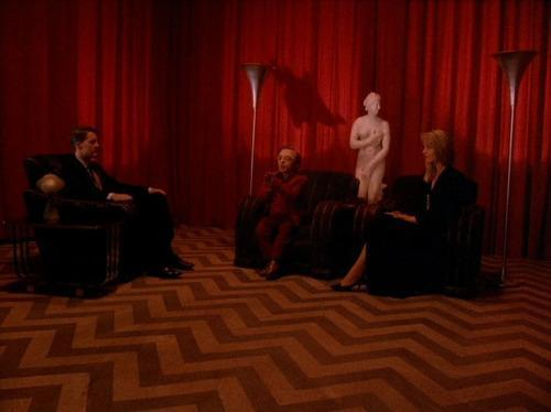 The dream-like Black Lodge