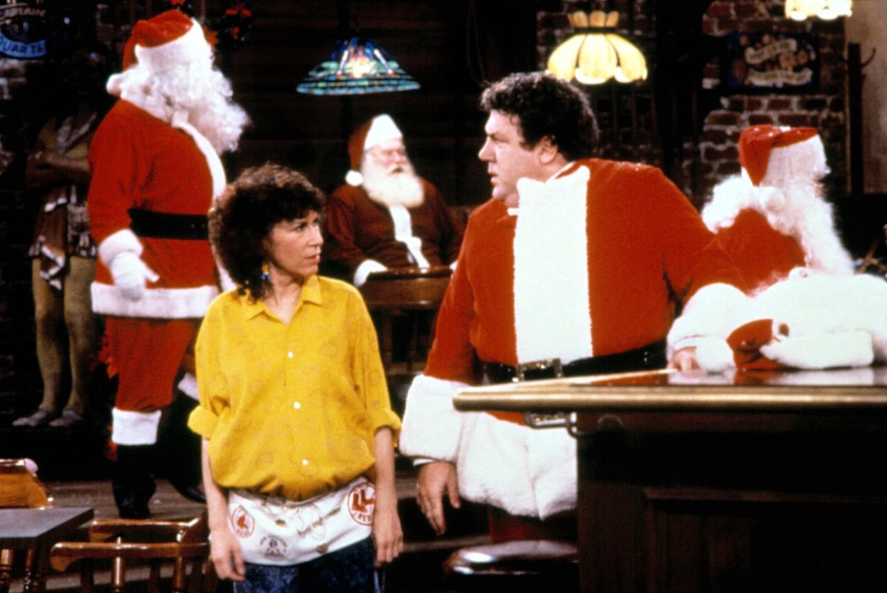 """<p>Nothing's quite like a warm-hearted and gooey episode of <strong>Cheers</strong>! """"Christmas Cheers"""" is a quintessential holiday episode revolving around Frasier's bah-humbug sentiment and Rebecca's plans to keep her employees at work during the holiday. We guarantee you'll feel a ton of Yuletide spirit by the end.</p> <p><a href=""""http://www.netflix.com/watch/70174976"""" target=""""_blank"""" class=""""ga-track"""" data-ga-category=""""Related"""" data-ga-label=""""http://www.netflix.com/watch/70174976"""" data-ga-action=""""In-Line Links"""">Watch <strong>Cheers</strong> on Netflix</a>.</p>"""