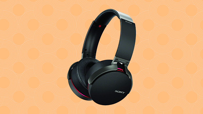 Grab these Sony 'Extra Bass' Wireless Headphones for more than half off. (Photo: Amazon)
