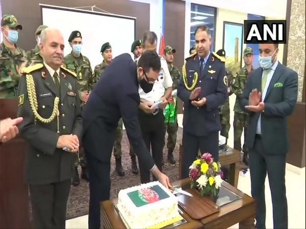 Afghan National Defence and Security Forces Day celebrations at Afghan Embassy in New Delhi.