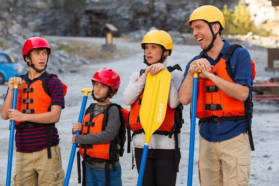 Ed Helms' takes his family on a trip of a lifetime in Vacation. (Warner Bros.)