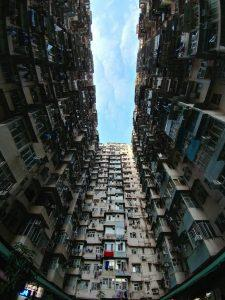Hong Kong-style housing