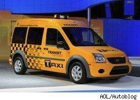 yellow taxi - natural gas taxis