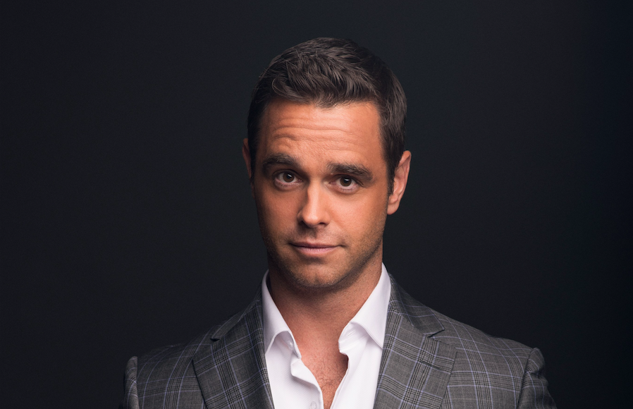 ABC reporter Karl Schmid is using his platform +Life to bring HIV conversations back in the mainstream. (credit: Luke Fontana)