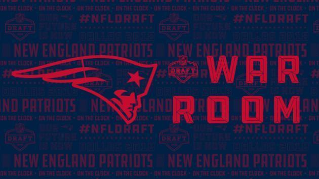 <p>Patriots' war room: Projecting New England's first four selections in 2018 NFL Draft</p>