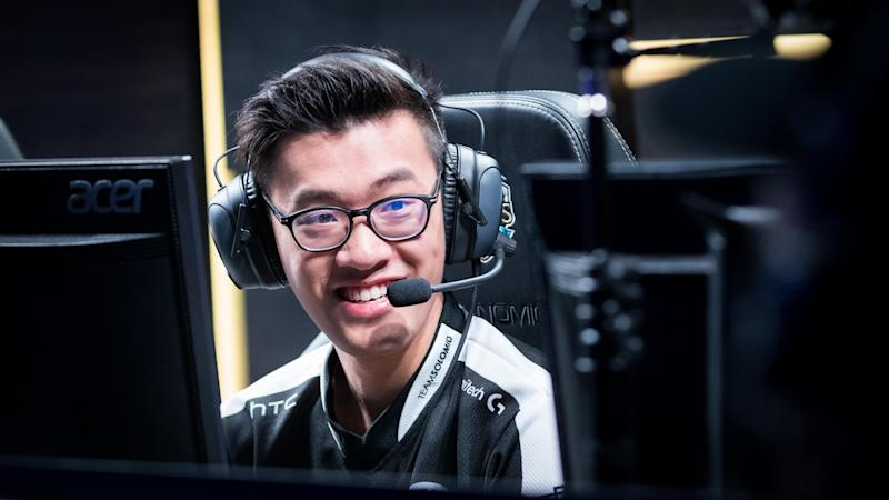 WildTurtle has departed from Team SoloMid for the second time (Jeremy Wacker)