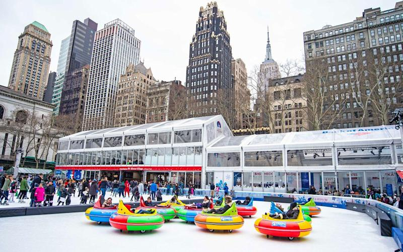 Courtesy of Bank of America Winter Village at Bryant Park