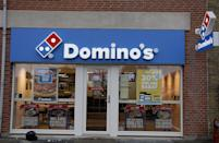 <p>This is definitely a call-ahead-and-double-check situation, but a lot of Domino's restaurants will be open on January 1. </p>