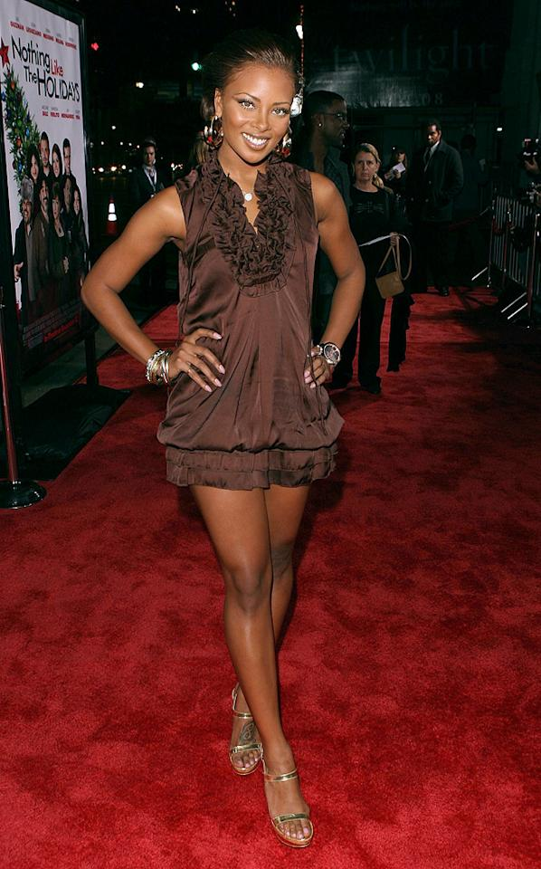 """<a href=""""http://movies.yahoo.com/movie/contributor/1809274904"""">Eva Pigford</a> at the Los Angeles premiere of <a href=""""http://movies.yahoo.com/movie/1809991685/info"""">Nothing Like the Holidays</a> - 12/03/2008"""