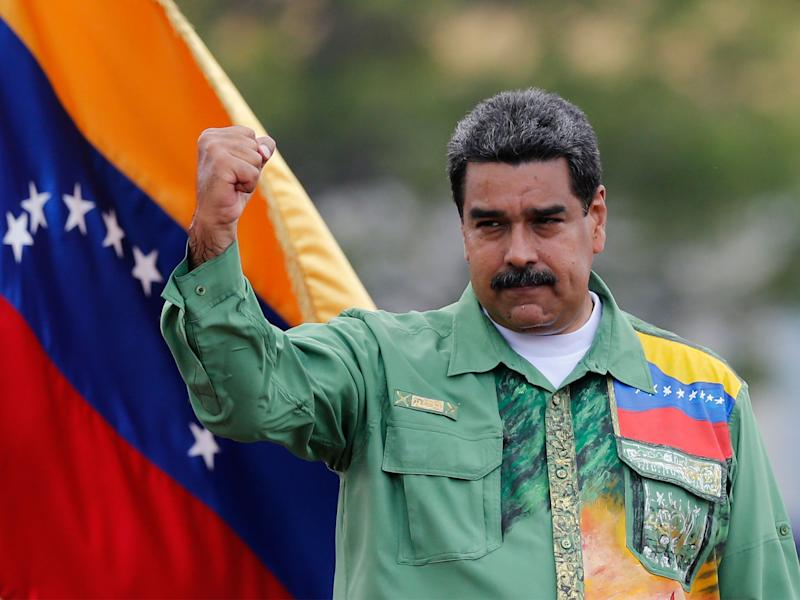 Nicolas Maduro is set to win a second term as president of Venezuela in Sunday's election: AP