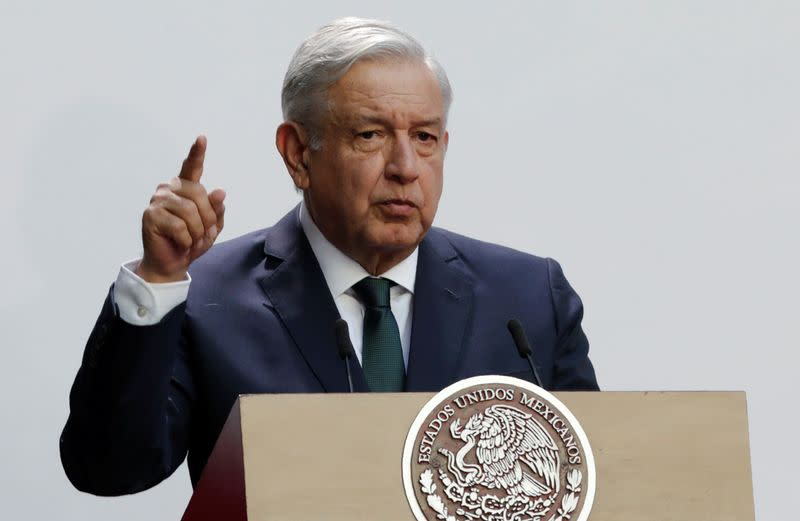 Israel shouldn't 'protect' former Mexican official, president says