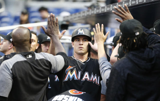JT Realmuto is among the all-star voting snubs. (AP Photo)