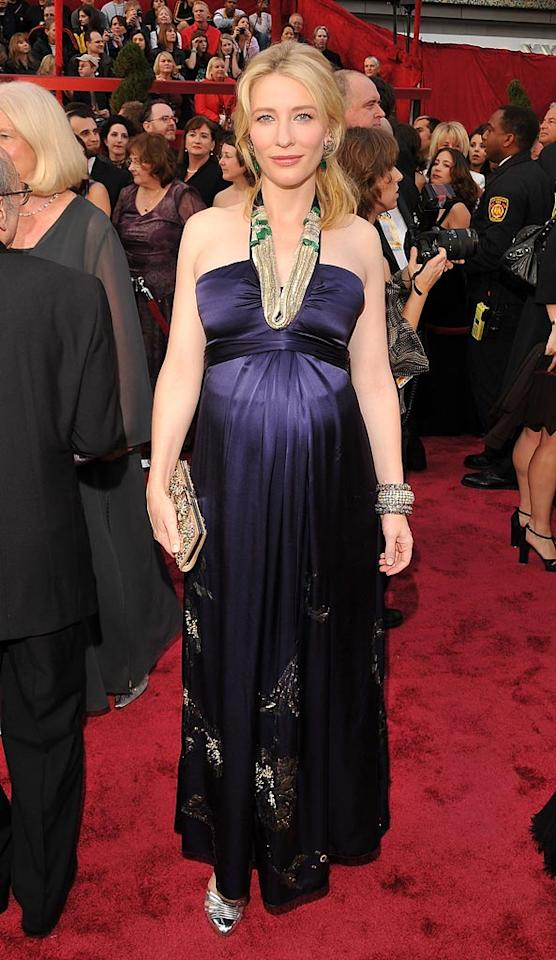"""<a href=""""http://movies.yahoo.com/movie/contributor/1800018917"""">Cate Blanchett</a> attends the 80th Annual Academy Awards in Los Angeles - 02/24/2008"""