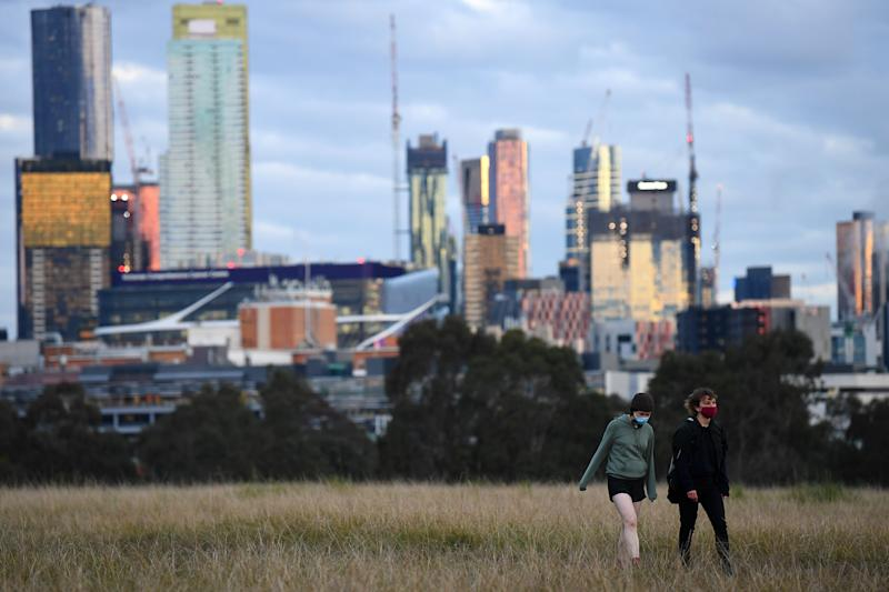 Victoria's cases continue to drop during Melbourne's Stage 4 restrictions. Source: AAP