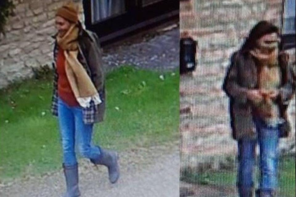 CCTV images of the mystery woman were released by police  (Thames Valley Police)