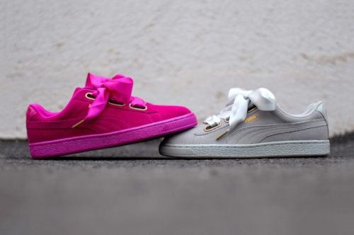0095371bfa5 The New Puma Suede Heart Satin is Stealing Our Hearts