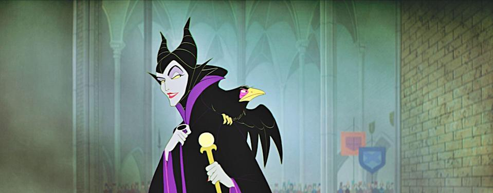 Maleficent in 1959's 'Sleeping Beauty', voiced by Eleanor Audley, and animated by Marc Davis. (Disney)