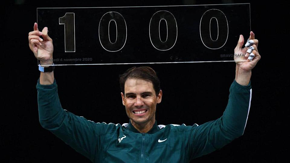 Paris Masters: Rafael Nadal wins 1,000th ATP Tour match