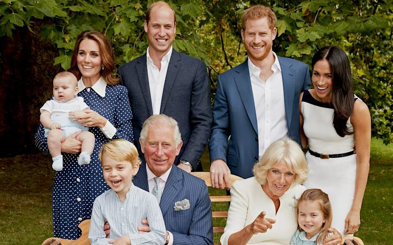 The 'nightmare' photo: Harry and William refused to cooperate, claims book - Getty Images