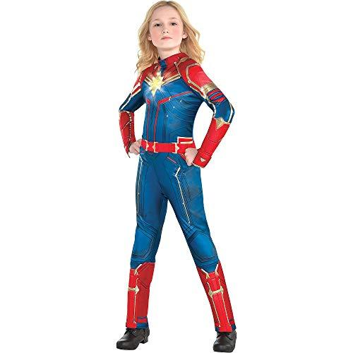 """<p><strong>Costumes USA</strong></p><p>amazon.com</p><p><strong>$34.99</strong></p><p><a href=""""http://www.amazon.com/dp/B07PCT8926/?tag=syn-yahoo-20&ascsubtag=%5Bartid%7C10070.g.22497942%5Bsrc%7Cyahoo-us"""" target=""""_blank"""">Shop Now</a></p><p>Every girl will feel like she too can save the universe in this light-up Captain Marvel costume. </p>"""