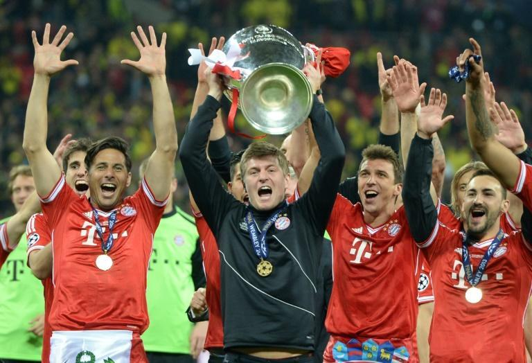 Toni Kroos won the first of his four Champions League titles in 2013